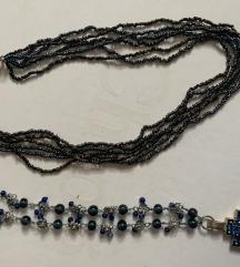 Dvije ogrlice perlice