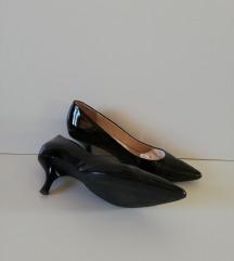 Divne crne čizme od fine lak - koža, HOGL, br37