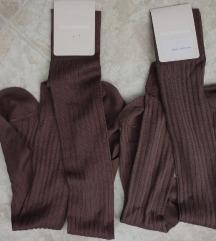 Calzedonia pamučne čarapa dokoljenice, 37-39