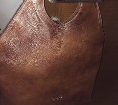 Galko kožna torba nova smeđa