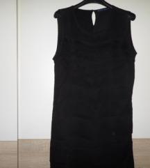 Zara Basic crna haljina vel.L više M