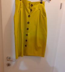 Suknja kao nova žuta ❤️