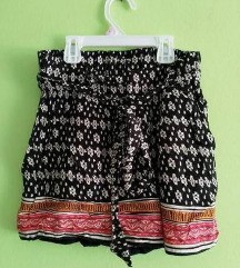 Indie boho hippie lagane kratke ljetne hlače