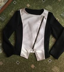 Crno - bijeli sako/jaknica%%%%