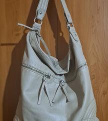 H&M prljavo bijela torba