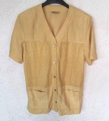 Vintage žuta košulja s gumbima