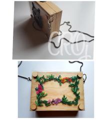 Magnet board 2u1 handmade torbica
