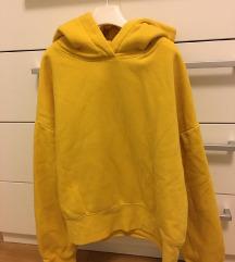 Zara žuta trenerka/hoodie