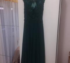 Zelena svečana haljina