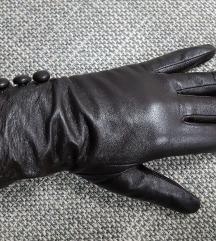 SAN Peter prava koža rukavice, kao nove,uklj.Tisak