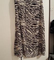 Stradivarius zebrasta suknja