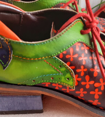 SOCOFY vintage ručno rađene cipele od prave kože
