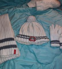 Esprit komplet kapa, šal i rukavice