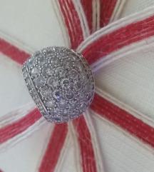 Masivni Srebreni prsten