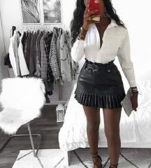 Kozna suknjica