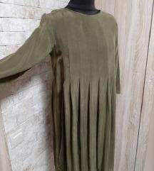 COS maslinasto zelena haljina dugih rukava