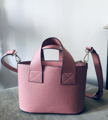 pink zara torbica