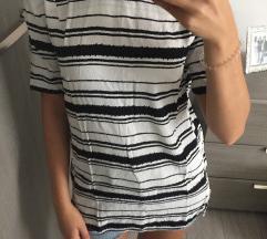 H&M majica/bluza na prugice