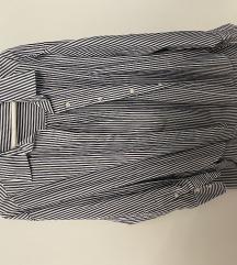 Oversize prugasta ljetna ZARA košulja S