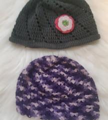 Pletene kape za djevojčice 6 -7 godina