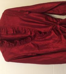 Elegantna crvena košulja kao Zara