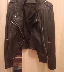 Kožna jakna Zara S