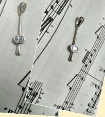 Vintage privjesak srebro i gorski kristal