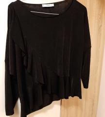 Crna elastična Mango bluza