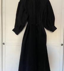 Crna kaput haljina XS