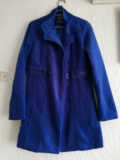 Kraljevsko plavi kaput M  %%SADA 260 !