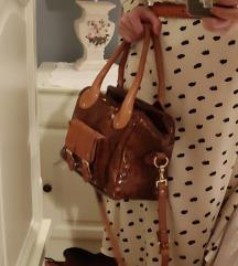 Konjak torba, prava koža