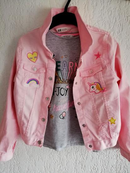 Roza jakna H&M br. 140
