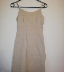 Nude vintage haljina / pt uključena