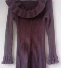 Zimska haljina kašmir 36 38