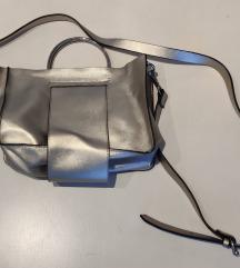 Zara mini kožna torbica