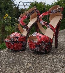 Sandale cvjetnog uzorka 38, PT uključena