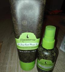 Macadamia maska i ulje