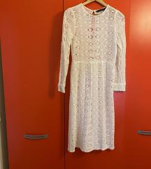 Bijela fina haljina