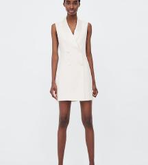Zara sako haljina bijela