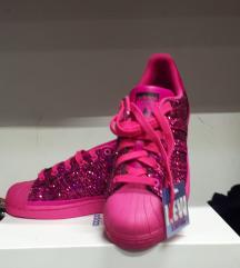 Superstar glitter pink