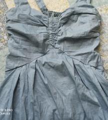Plava ljetna haljina S/M