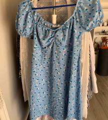 Stradivarius plava haljina