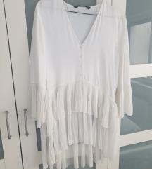 Zara plisirana bluza