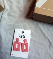 naušnice Zara velike retro vintage look