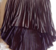 Novo!! Asimetrična MISO gloss suknja xl