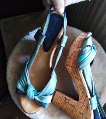 Deska shock sandale....koža / pluto