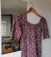 Bordo majica na cvjetiće, C&A, 36