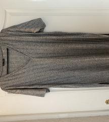 Zara siva tunika / haljina