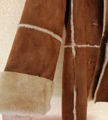 Smeđa jakna kaput AKCIJA