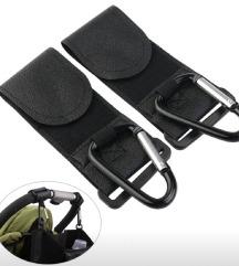 Novi držači za torbu za dječja kolica